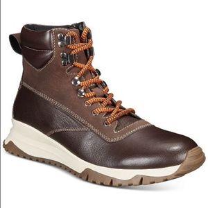 *Alfani Men's Reggie Leather Alpine Boot